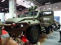 HCP HUSAR 4x4 tactical military vehicles MSPO 2017 Kielce presentation